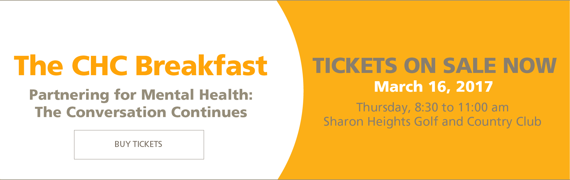 Buy Tickets to the CHC Breakfast
